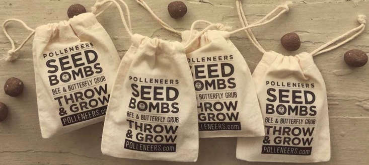 From Honey Farms, Seed Bombs cost $ a month.