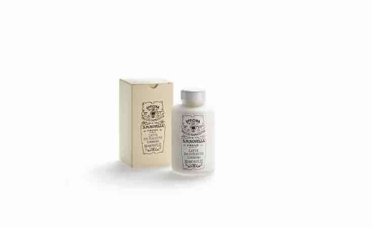 A bottle of Latte da Toilette Cleansing Milk is &#8\2\20;rich in plant oils for daily use on the face and neck, with a delicate rose gardenia scent.&#8\2\2\1; It&#8\2\17;s \$80 from S.M. Novella.
