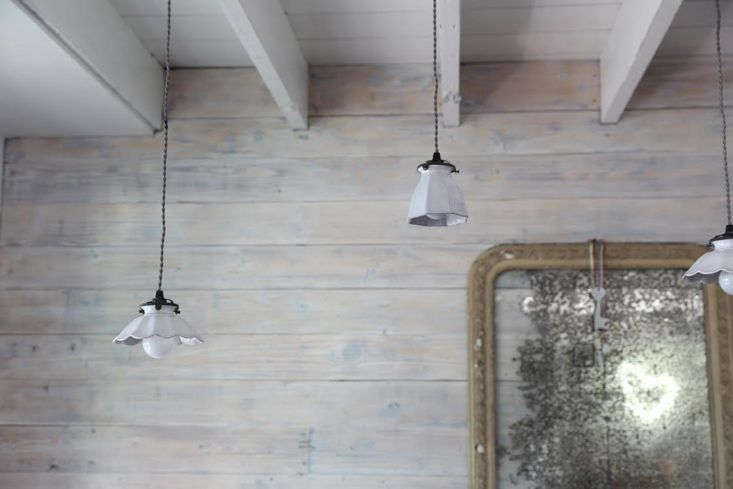 In this week&#8\2\17;s Shopper&#8\2\17;s Diary, Julie visits a West Coast design shop&#8\2\17;s new upstate NY outpost, where a row of Astier de Villatte ceramic pendant lights hangs over the sales desk. Photograph by Rebecca Westby for Remodelista.