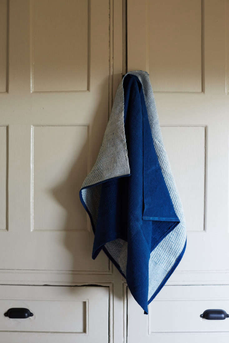 Hand-Dyed Kitchen Linens from Virginia Sin.