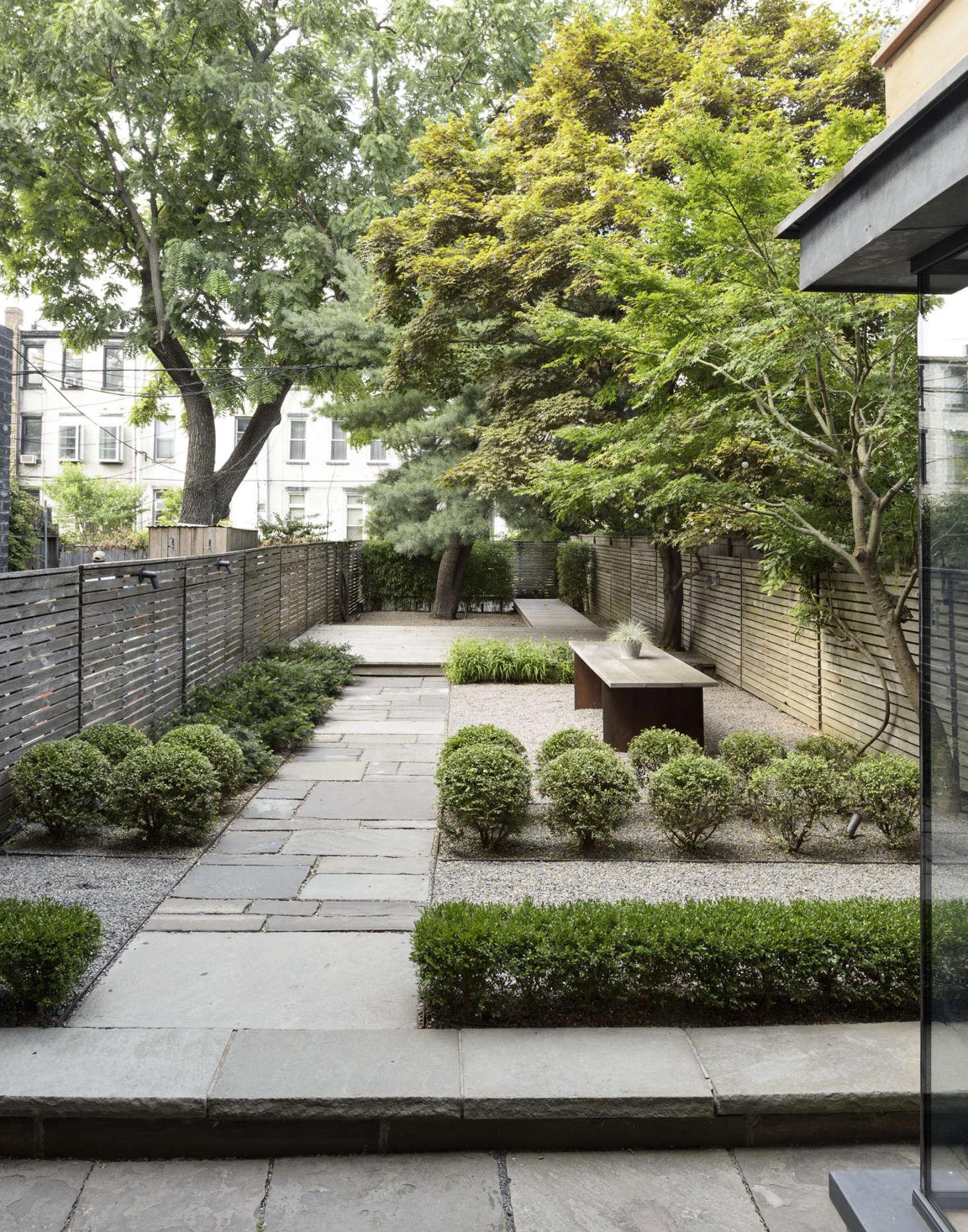 Brooklyn garden fence by Matthew Williams