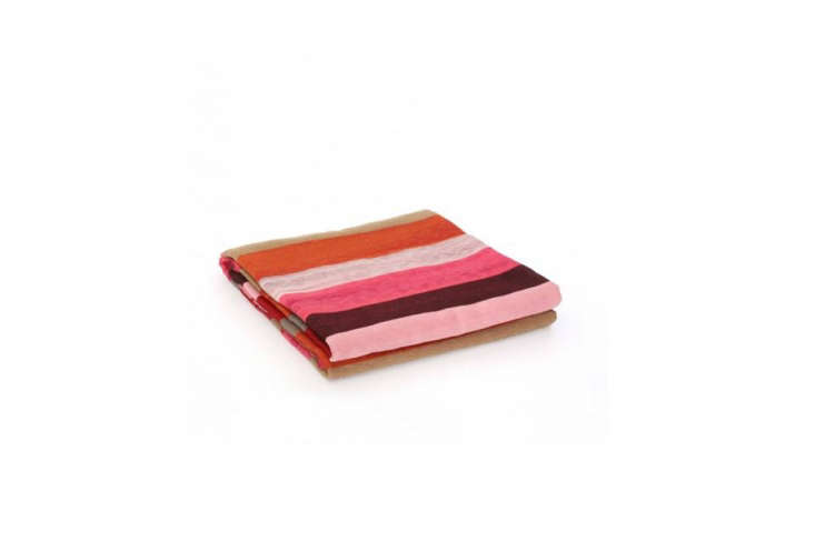 The Desert Blanket in Orange and Camel by Garza Marfa is $0 at Heath Ceramics.