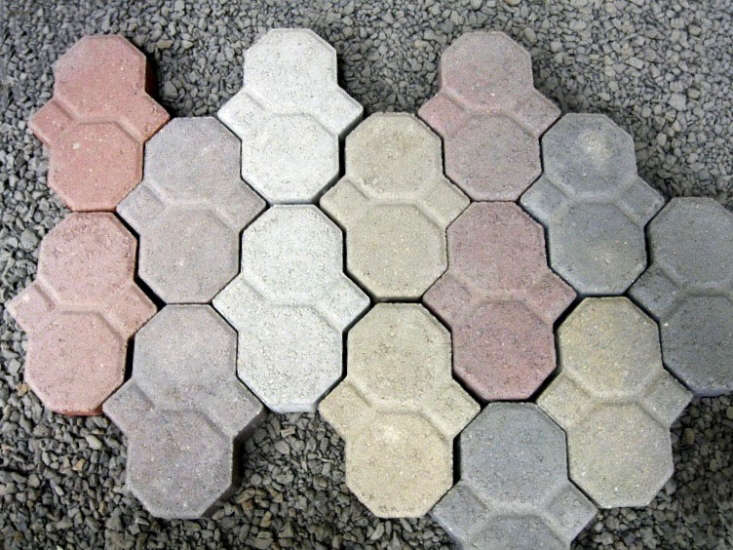 Interlocking Concrete Paving Stones come in several colors; patterns are limitless. See Roanoke Concrete Products for more information and prices.