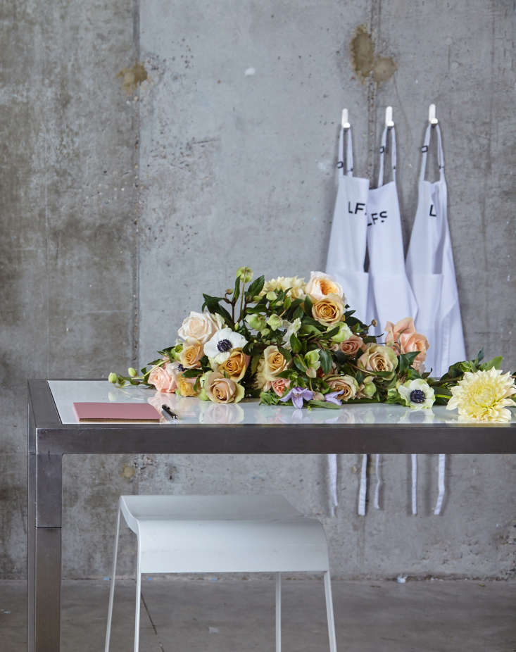 """Most of all Kreusch wants to share his in-depth knowledge of the floristry industry as well as his passion for flowers: """"I have been teaching for many years and I know the therapeutic property of flowers and flower arranging."""""""