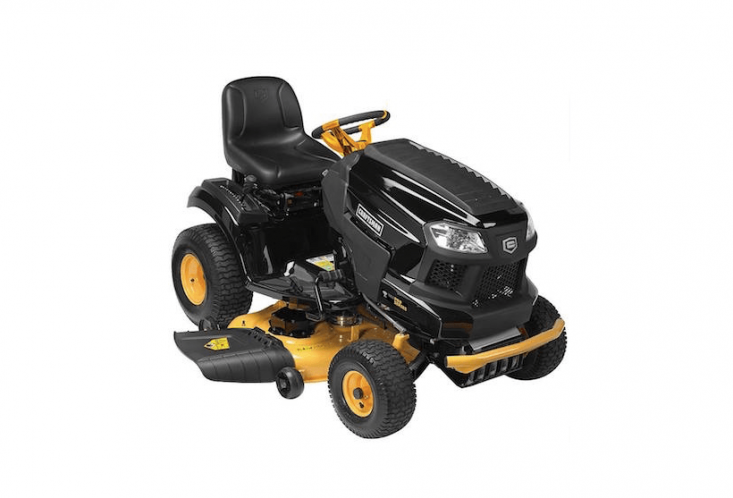 With a smartphone app to help you keep track of its maintenance schedule, the Craftsman Pro Series 46-Inch Turn Tight Lawn Mower boasts Smart Lawn bluetooth technology; it is \$\1,999.99 from Sear&#8\2\17;s.