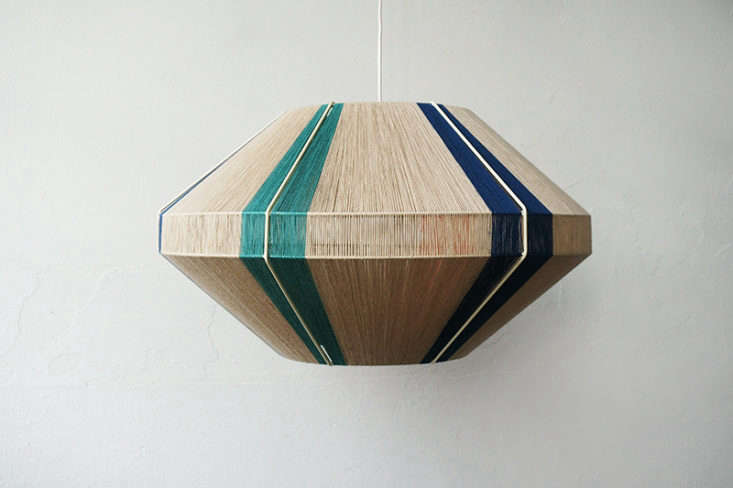 Annie studies string theory. See more in Four Young Designers with Fanciful Lighting Collections.