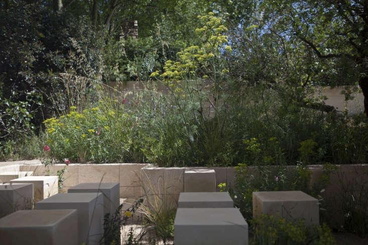 The Malta garden, designed by James Basson.
