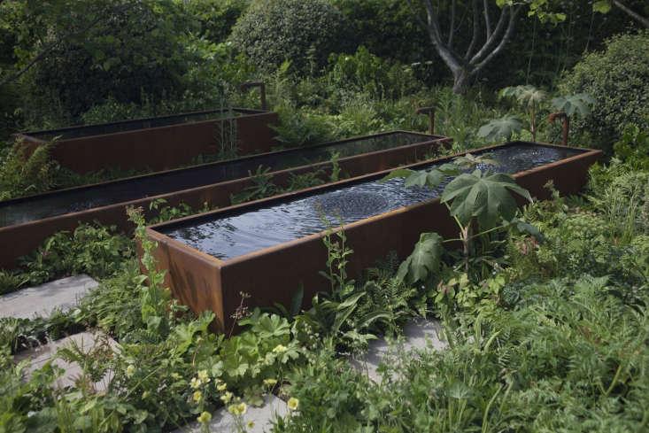 The Zoe Ball Listening Garden for Radio \2, designed by James Alexander-Sinclair.