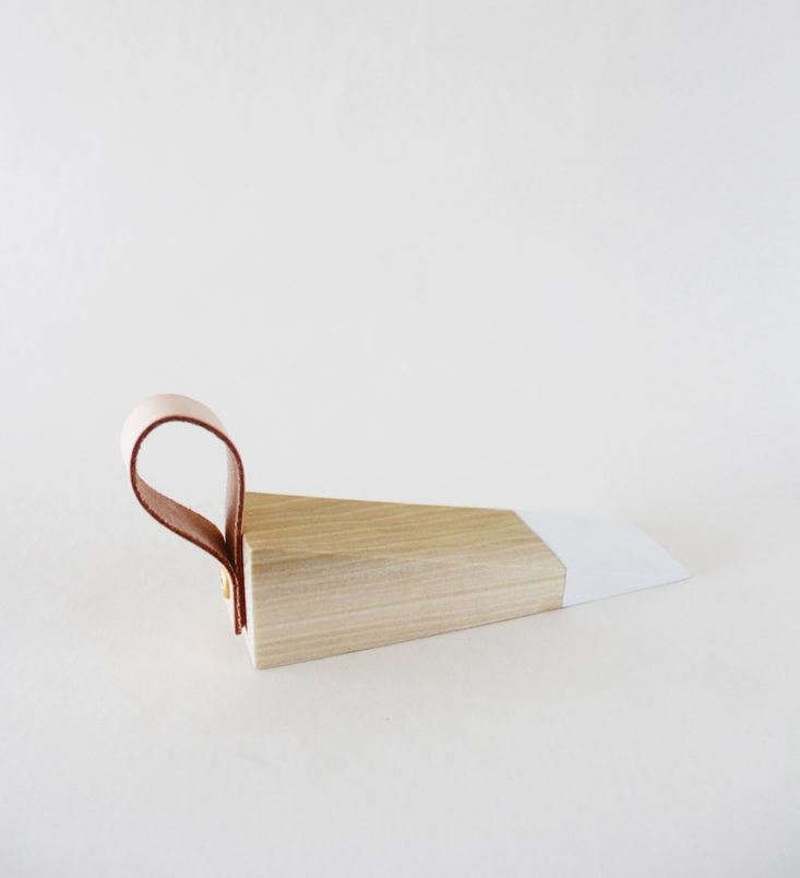 It&#8\2\17;s the details that matter; see DIY: Painted Wooden Doorstop.
