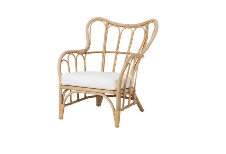 An Ikea Mastholmen Armchair is \$\100.