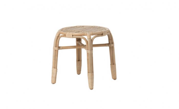 Ikea&#8\2\17;s rattanMastholmen Side Table is \$35.