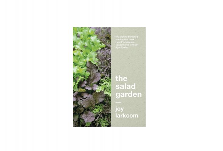 Newly republished,The Salad Garden by Joy Larkcom is £.99 (or $.99in the US) from Frances Lincoln.