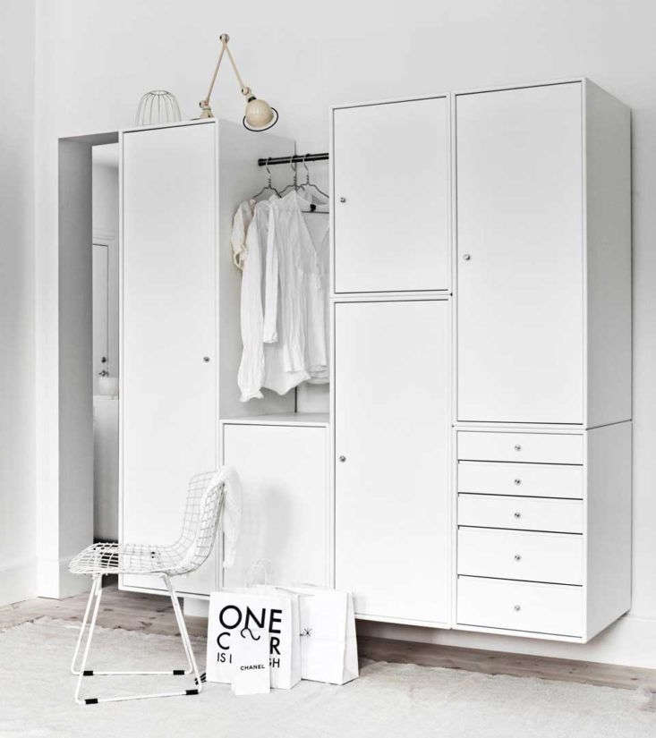 Does your guest room have enough storage? See Genius Modular Storage from Denmark.