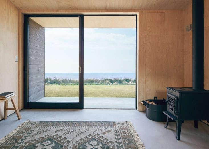 Plywood interior walls &#8\2\20;are left untreated so you can design the interior any way you like,&#8\2\2\1; says Muji. Twin beds welcome. Or at least one twin bed.