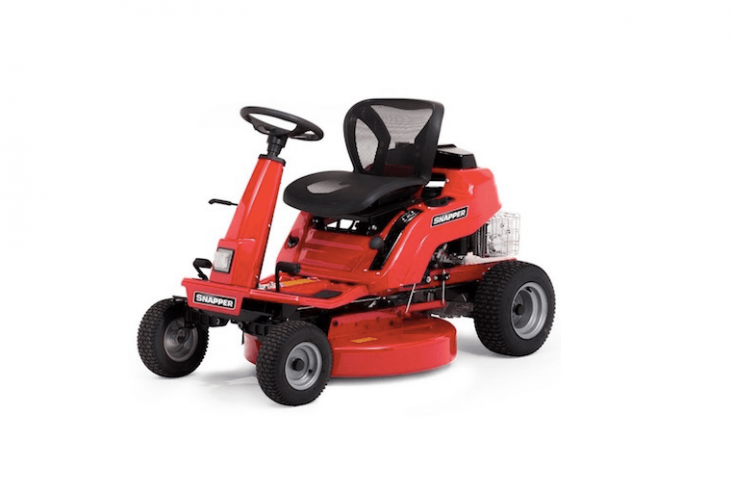 For UK readers, a Snapper REX300 Ride-On Mower is £\2,599 from Mow Direct.