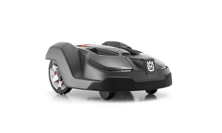 A Husqvarna 450X robotic lawn mower is $3,499.