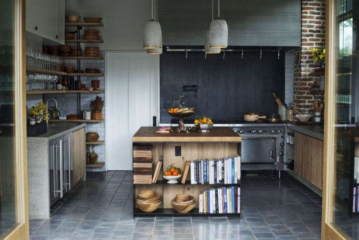 Blackened steel is one material to consider if you&#8