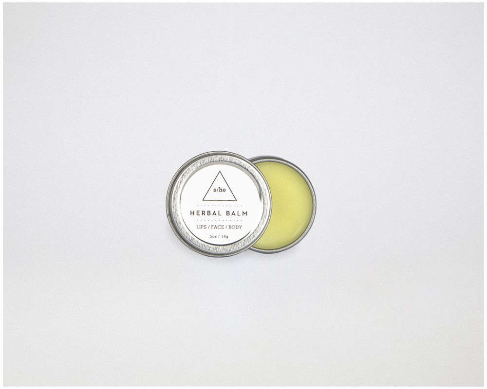 Herbal Skin Balm from West Coast apothecary S/he Studio has &#8