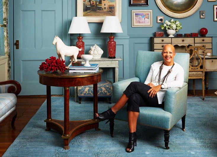 Author and interior designer Sheila Bridges.