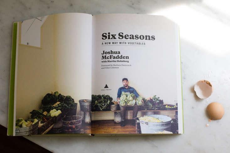 Six Seasons cookbook by Joshua McFadden photograph by Mimi Giboin