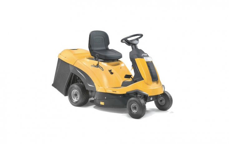 A Stiga Combi 307\2 H Ride-On Mower has seven settings for cutting height; £\1,849 from Mow Direct.