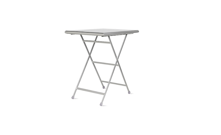 Reminiscent of a Parisian sidewalk café,Arc En Ciel Tablehas a steel frame and a powder coated finish and is on sale for \$\165.75, marked down from \$\195, at Design Within Reach.