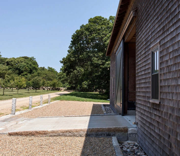 On the 80-acre property seven outbuildings,includingcheese caves beneath the main barn, house the farm&#8