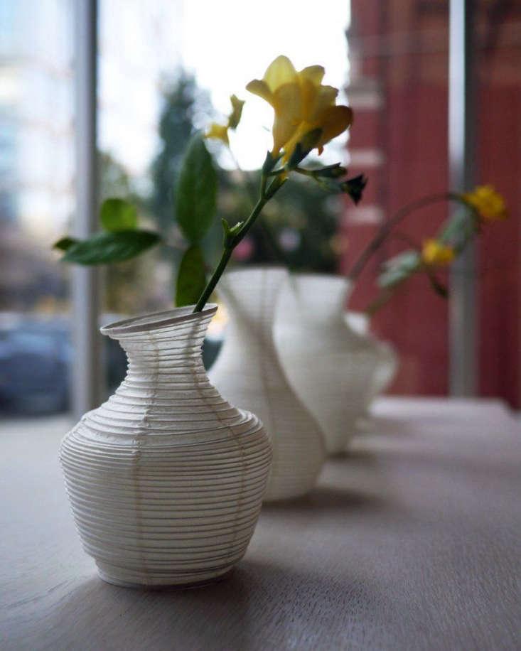 A Washi Paper Vase No. \1 is \$\2\2 from Nalata Nalata.