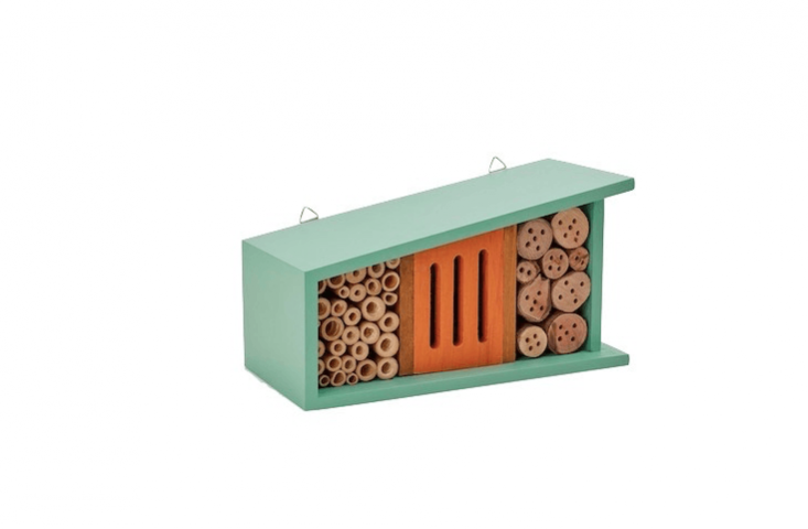 With a pine frame, aWild & Wolf Bug Motel comes with two hangers and is \$58 from ABC Home.