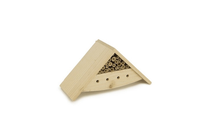 A smallTerrace Bee House is designed to fit into compact spaces; \$\19 from Bambeco.