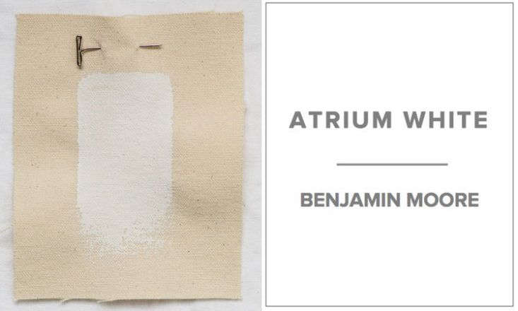 A favorite white for Michielli & Wyetzner Architects in New York is Benjamin Moore Atrium White. &#8\2\20;We like it because it has a warm, almost reddish tone, as opposed to most whites, which we find either too blue, too icy, or too yellow,&#8\2\2\1; Michael Wyetzner says.