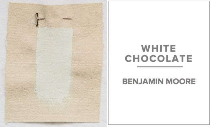 Bay Area architect Ken Linsteadt&#8\2\17;s &#8\2\20;patented favorite&#8\2\2\1; is Benjamin Moore White Chocolate.