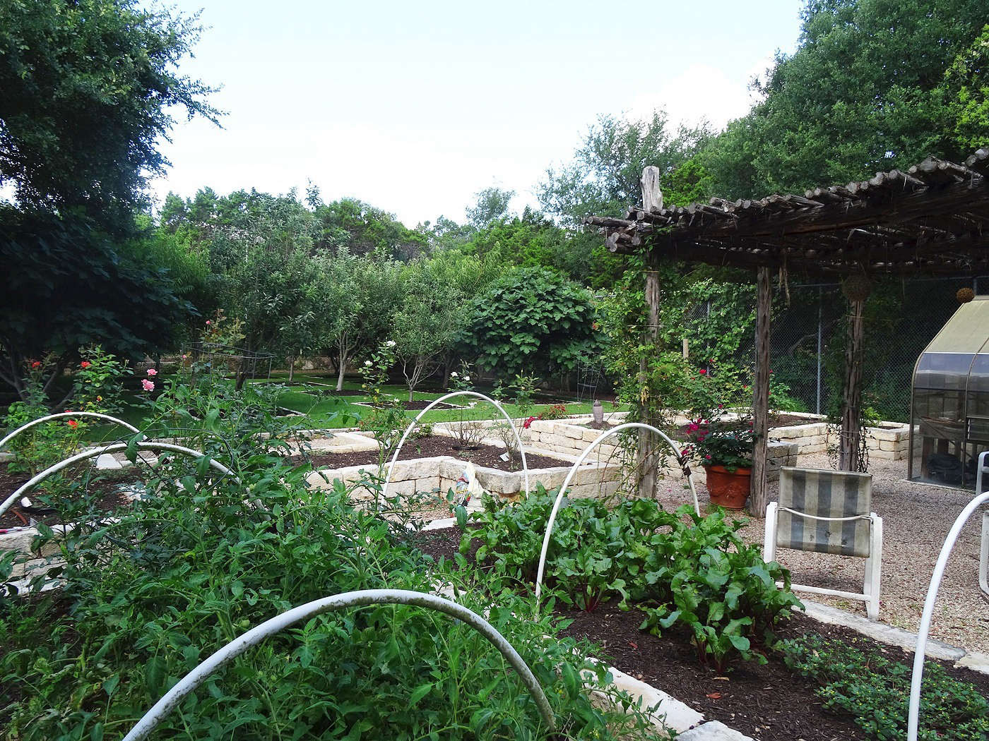 Tait Moring Landscape Architect submitted thisOrchard and Vegetable Garden in Westlake Hills, Texas, which was chosen by Rita Konig: &#8