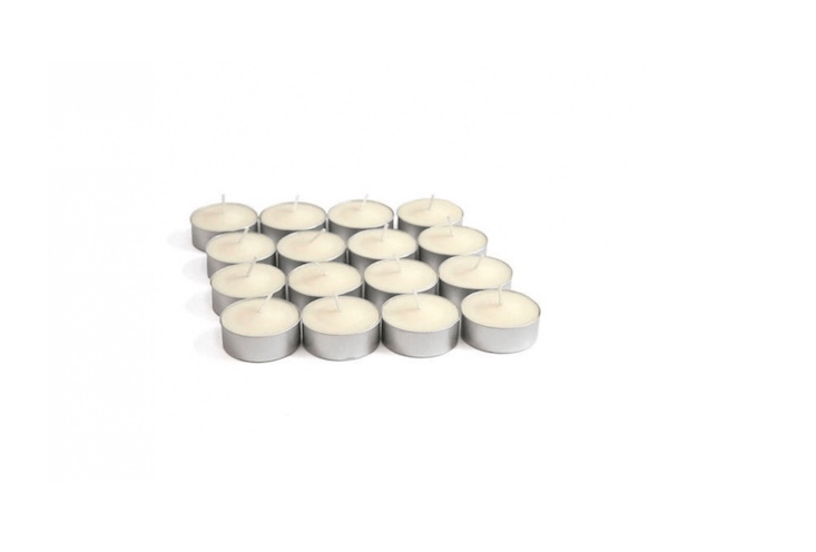 A set of \16 Outdoor Citronella Tea Lights is \$4.\17 from Home Depot.