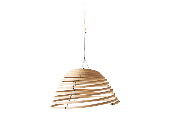 Fredericks and Mae&#8\2\17;s Coiled Hanging Incense Sticks also are available in two sizes at Anthropologie; \$\24 as shown.