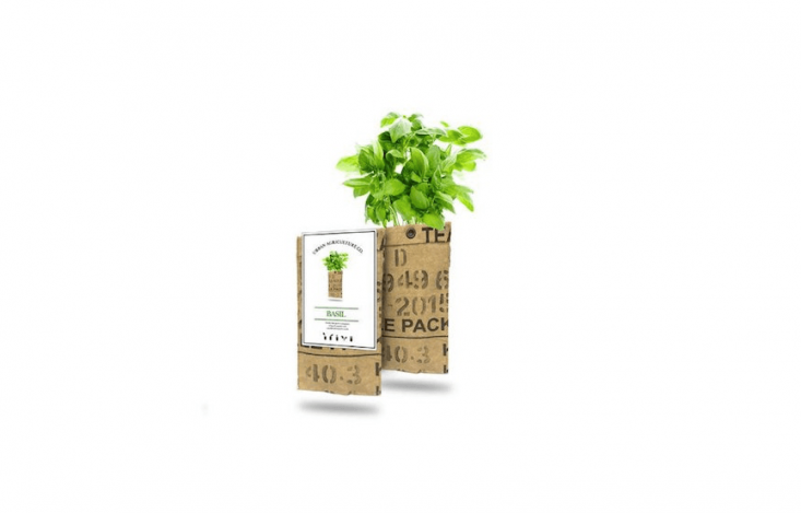 Made by Urban Agriculture, a Basil Grow Kit &#8