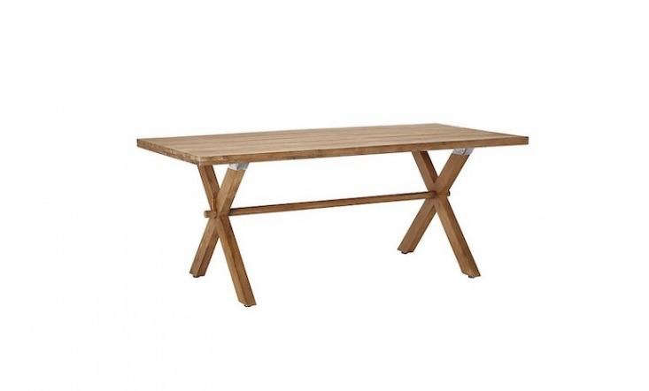 Made of eucalyptus from Vietnam, a Croft Collection Islay 6-Seater Dining Table is £499 from John Lewis.