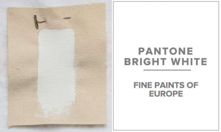 Pulltab prefers Fine Paints of Europe in Pantone Bright White (Fine Paints of Europe can specify any Pantone shade); the firm also likes Benjamin Moore Snowfall White.