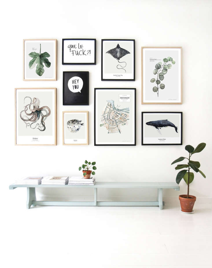 Koster has a degree in graphic and typographic design from The Royal Academy of Arts in The Hague. She specializes in watercolors of flora and fauna, and also makes prints of her hand-lettered mottos.
