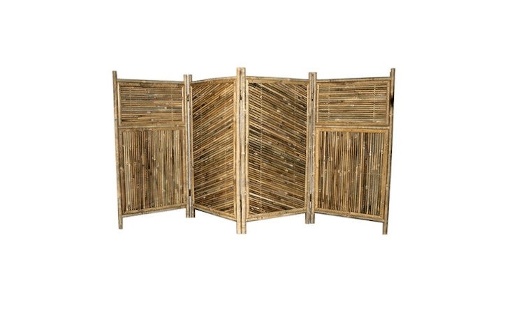 Available in four sizes and heights up to 54 inches, a four-panelBamboo Screen Enclsoure is available for prices ranging from $loading=