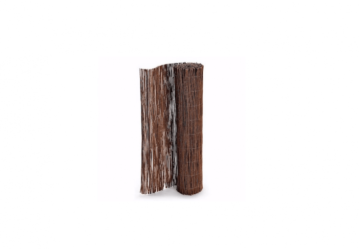 AWillow Balcony Screen made of natural willow twigs is 300 centimeters long and available in two heights (90 and 0 centimeters); from €40 to €60 depending on size atManufactum.