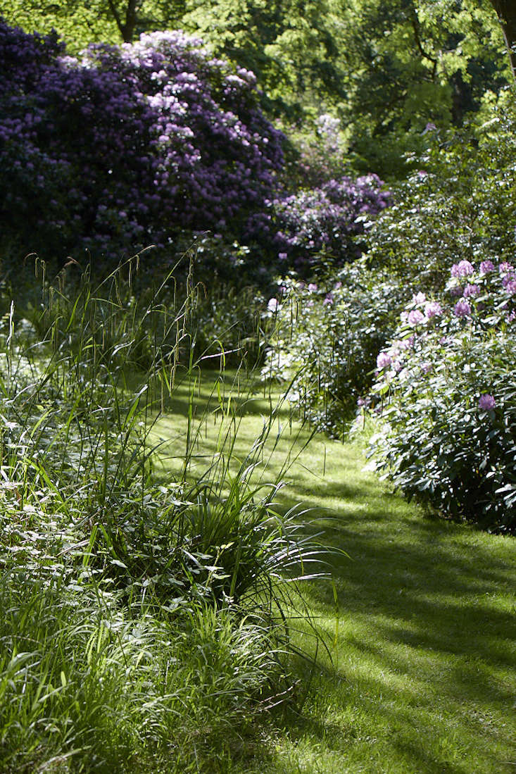 Create contrast with mown paths.
