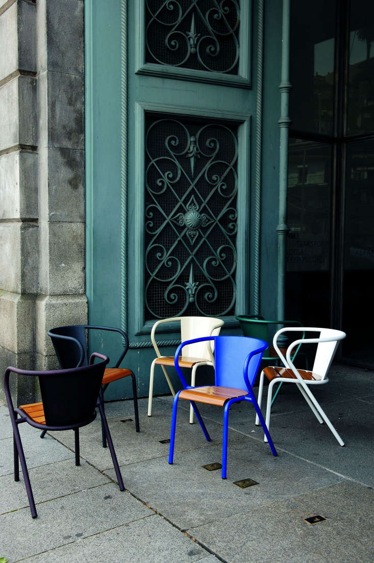 Admired in a recent meeting: the metalPortuguese Chair by Adico of Portugal. (For more of the company&#8\2\17;s offerings, seeHigh/Low: The Vintage-Style Pharmacy Cabinetover on Remodelista.)