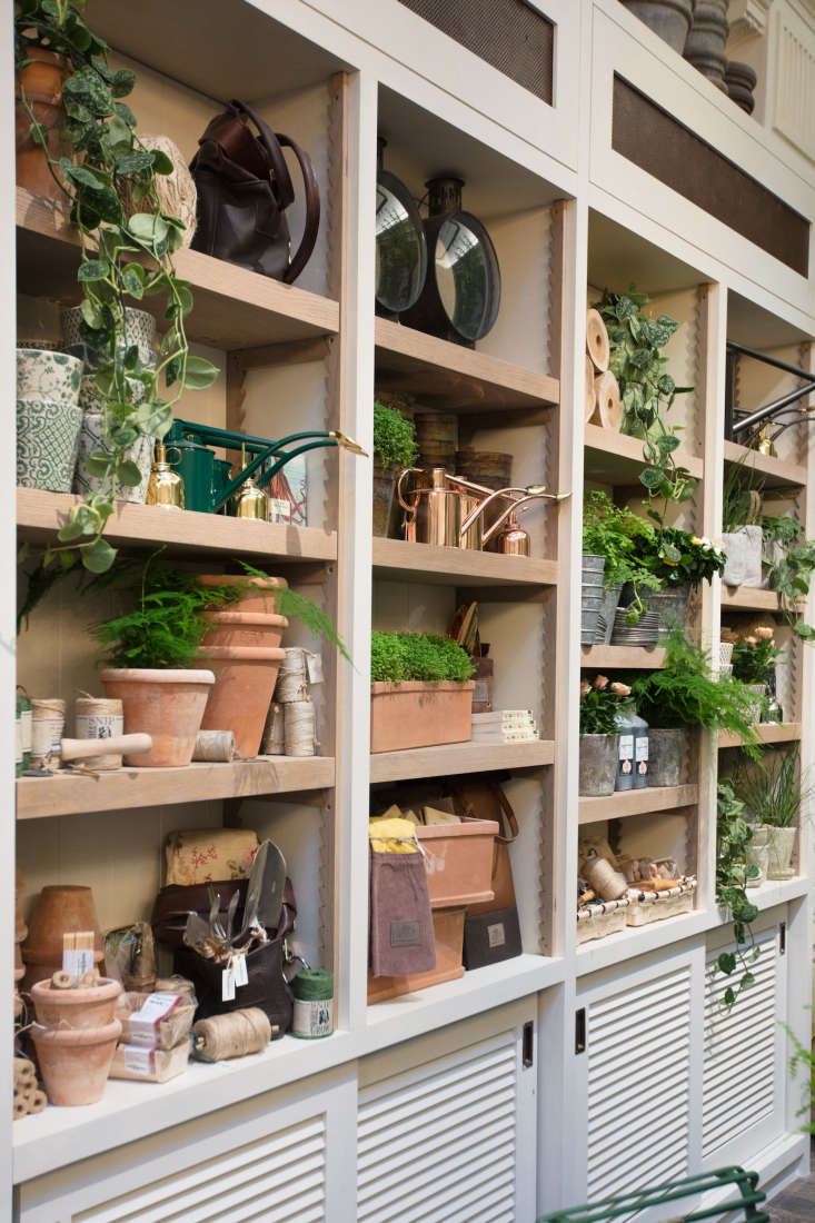Just as you'd expect, there are all the artisanal tools you'll need for urban gardening including beautiful copper watering cans and Petersham hand tools with cherry or ash handles (from £3