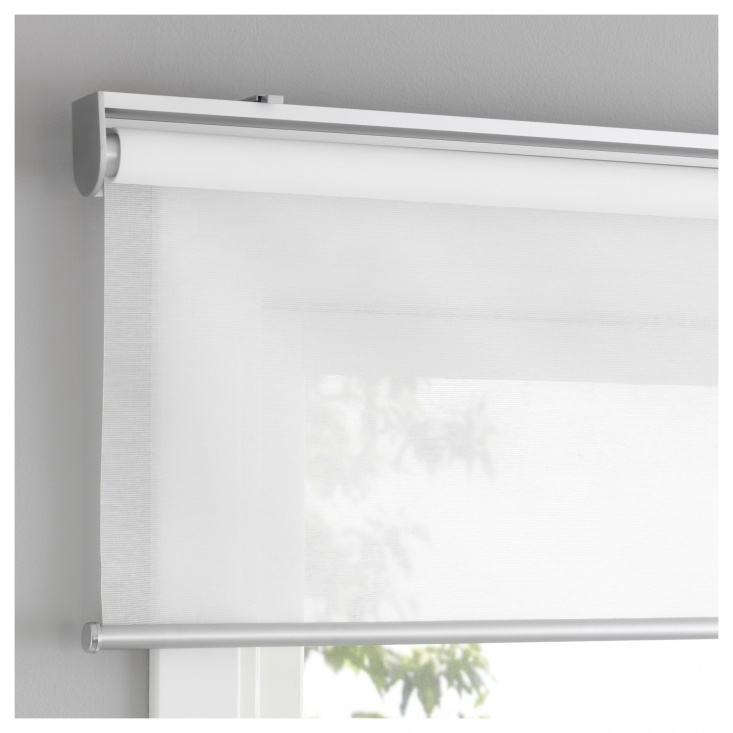 Everything you need to know to choose perfect, simple roller blinds: design questions answered in this week&#8\2\17;s Remodeling \10\1 post. Photograph via Ikea.