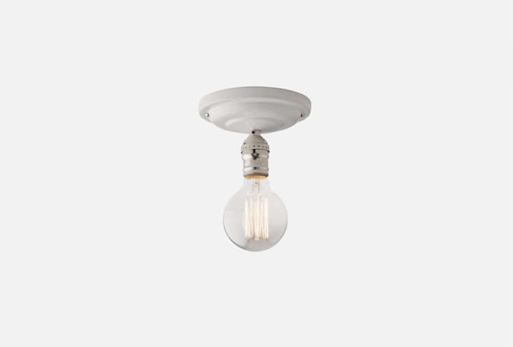&#8\2\20;The porcelain light socket, once the hallmark of the New York City tenement apartment, has come to represent the essence of timeless and affordable utility design,&#8\2\2\1; writes Megan. Read more in this week&#8\2\17;s Object Lessons post. Photograph via Schoolhouse Electric.