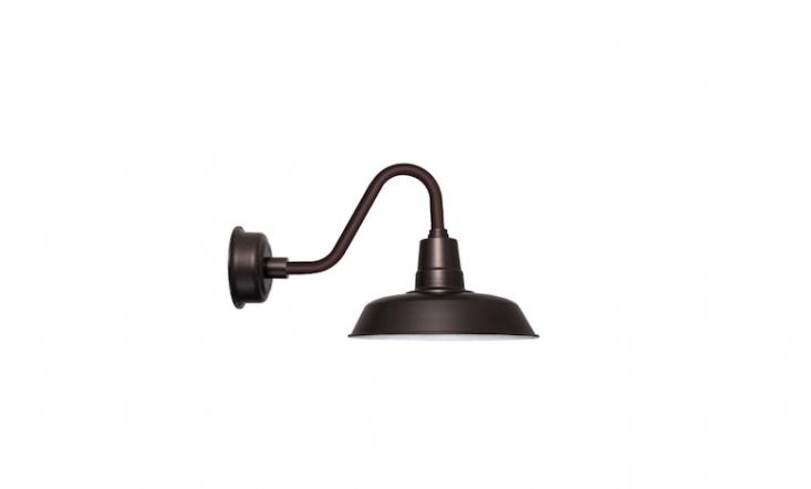 A \1-Light Outdoor Barn Light is \$3\2\2.99 from All Modern.