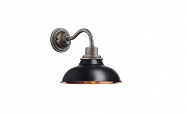 A \1\2-inchCarson Wall Sconce comes in \13 finishes; as configured it is \$\249 from Rejuvenation.