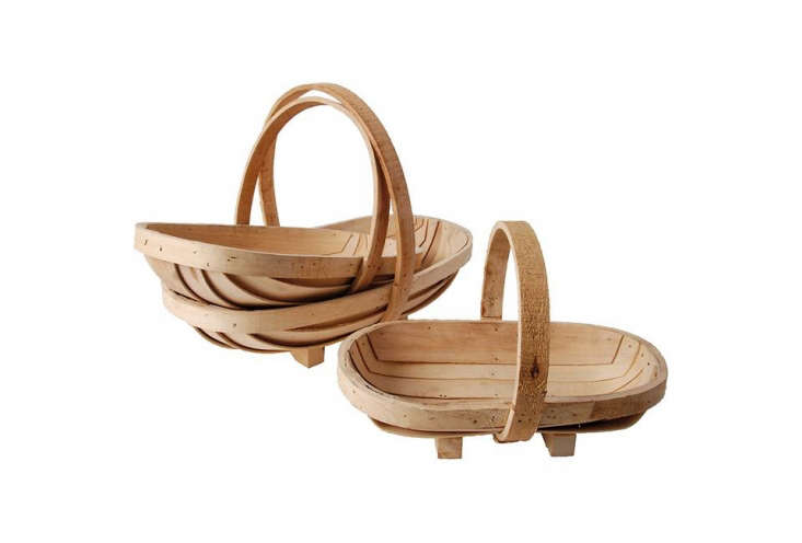 From Esschert Design, a set of three nestingSussex Trugs is \$73.86 from Amazon.