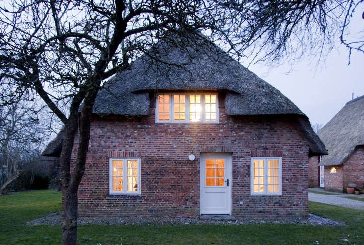Architects Karin Matz of Sweden and Francesco Di Gregorio of Italy transformed a former hay loft in a farmhouse on the small island of Föhr (technically belonging to the Nordfriesland district of Germany) in the North Sea. Photograph courtesy of Francesco Di Gregorio.
